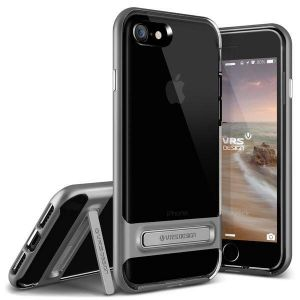 Чехол для iPhone 8 / 7 (4.7'') VRS Design Crystal Bumper - Steel Silver (904599)
