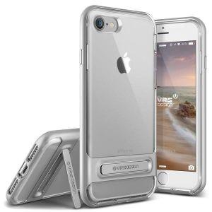 Чехол для iPhone 8 / 7 (4.7'') VRS Design Crystal Bumper - Light Silver (904598)