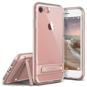 Чехол для iPhone 8 / 7 (4.7'') VRS Design Crystal Bumper - Rose Gold (904600)