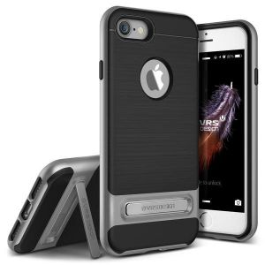 Чехол для iPhone 8 / 7 (4.7'') VRS Design High Pro Shield - Steel Silver (904604)