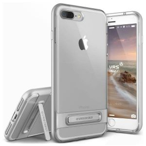Уцененный товар! Чехол для iPhone 8 Plus / 7 Plus (5.5'') VRS Design Crystal Bumper - Light Silver (904632)