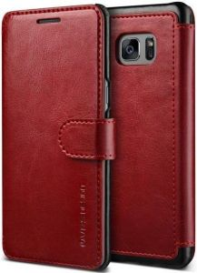 Чехол для Samsung Galaxy Note Fan Edition (N935) / Note 7 (N930) VRS Design Dandy Layered - Wine+Black (904673)