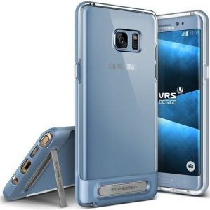 Чехол для Samsung Galaxy Note Fan Edition (N935) / Note 7 (N930) VRS Design Crystal Bumper - Blue Coral (904725)
