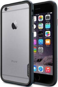 Бампер для Apple iPhone 6 (4.7'') SGP Neo Hybrid EX Series Metal Slate (+пленка) (SGP11023)