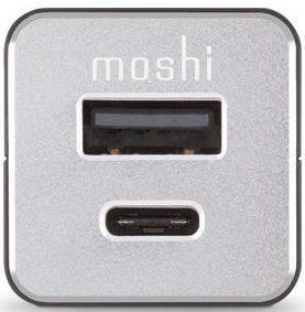 Автомобильное зарядное устройство Moshi USB-C Car Charger Black (99MO022071)