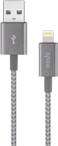 Кабель Moshi Integra Lightning to USB Cable Titanium Gray (1.2 m) (99MO023044)