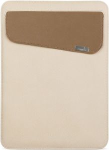Чехол для MacBook Pro 13'' Retina (2012-2018) / Air 13'' (2010-2018)  / iPad Pro 12.9'' Moshi Muse 13 Microfiber Sleeve Case Sahara Beige (99MO034715)