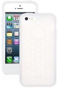 Чехол для iPhone SE/5/5S Moshi Origo Silicone Case White (99MO050102)