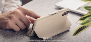 Чехол для iPhone XR Moshi SenseCover portfolio case with touch-sensitive cover Savanna Beige (99MO072111)