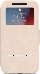 Чехол для iPhone XR Moshi SenseCover portfolio case with touch-sensitive cover Savanna Beige (99MO072111)
