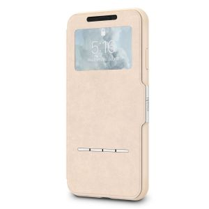 Чехол для iPhone XS Max Moshi SenseCover portfolio case with touch-sensitive cover Savanna Beige (99MO072112)