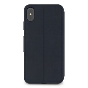 Чехол для iPhone XS MAX (6.5'') Moshi SenseCover Touch-Sensitive Portfolio Case with SensArray Midnight Blue (99MO072532)