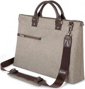 Сумка для ноутбука с диагональю до 15'' Moshi Urbana Slim Laptop Briefcase Sandstone Beige (99MO078742)
