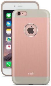 Чехол для iPhone 6 Plus / 6S Plus (5.5'') Moshi iGlaze Armour Metallic Case Golden Rose (99MO080305)