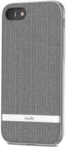 Чехол для iPhone 8/7 (4.7'') Moshi Vesta Textured Hardshell Case Herringbone Gray (99MO088011)