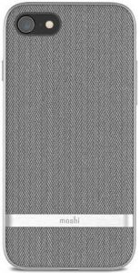 Чехол для iPhone 8/7 (4.7'') Moshi Vesta Textured Hardshell Case Herringbone Gray (99MO088011)