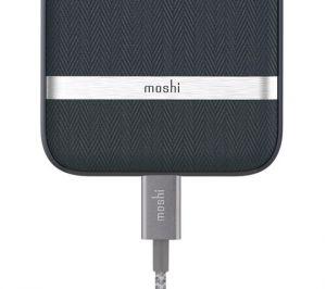 Чехол для iPhone 8/7 (4.7'') Moshi Vesta Textured Hardshell Case Bahama Blue (99MO088513)