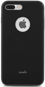 Чехол для iPhone 8 Plus / 7 Plus (5.5'') Moshi iGlaze Slim Lightweight Snap-On Case Metro Black (99MO090002)