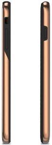 Чехол для iPhone 8 Plus / 7 Plus (5.5'') Moshi iGlaze Ultra Slim Snap On Case Armour Black (99MO090009)