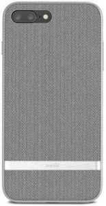 Чехол для iPhone 8 Plus / 7 Plus (5.5'') Moshi Vesta Textured Hardshell Case Herringbone Gray (99MO090011)