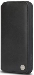 Чехол для iPhone XR Moshi Overture Premium Wallet Case Charcoal Black (99MO091010)
