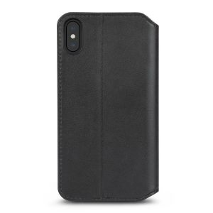 Чехол для iPhone XS MAX (6.5'') Moshi Overture Premium Wallet Case Charcoal Black (99MO091011)