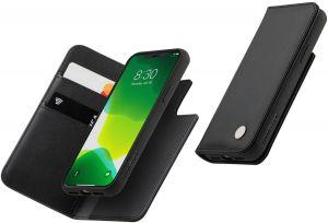 Чехол для iPhone 11 Pro (5.8'') Moshi Overture Premium Wallet Case Jet Black (99MO091012)