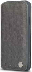 Чехол для iPhone XR Moshi Overture Premium Wallet Case Herringbone Gray (99MO091051)
