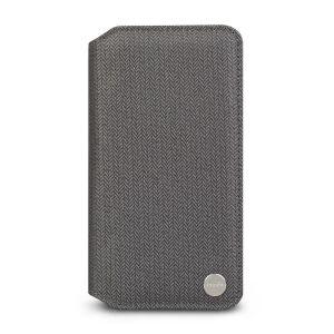Чехол для iPhone XR Moshi Overture Premium Wallet Case Herringbone Gray (99MO091051)