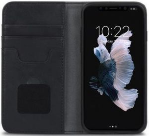 Чехол для iPhone XS/X Moshi Overture Wallet Case Charcoal Black (99MO101002)