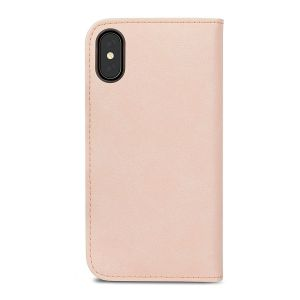 Чехол для iPhone XS/X Moshi Overture Wallet Case Luna Pink (99MO101303)