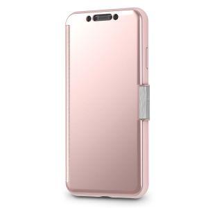 Чехол для iPhone XS MAX (6.5'') Moshi StealthCover Portfolio Case Champagne Pink (99MO102303)