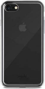 Чехол для iPhone 8 / 7 (4.7'') Moshi Vitros Clear Protective Case Raven Black (99MO103032)