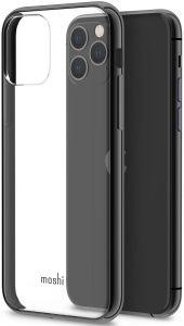 Чехол для iPhone 11 Pro (5.8'') Moshi Vitros Slim Clear Case Raven Black (99MO103036)
