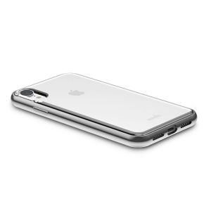 Чехол для iPhone XR Moshi Vitros Slim Clear Case Jet Silver (99MO103202)