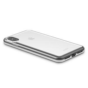 Чехол для iPhone XS MAX (6.5'') Moshi Vitros Slim Clear Case Jet Silver (99MO103203)