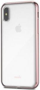 Чехол для iPhone XS/X Moshi Vitros Slim Stylish Protection Case Orchid Pink (99MO103251)