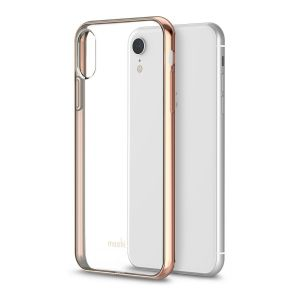 Чехол для iPhone XR Moshi Vitros Slim Clear Case Champagne Gold  (99MO103301)