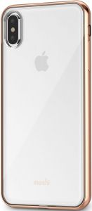 Чехол для iPhone XS MAX (6.5'') Moshi Vitros Slim Clear Case Champagne Gold (99MO103302)