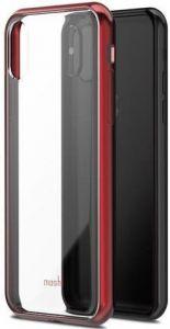 Чехол для iPhone X Moshi Vitros Slim Stylish Protection Case Crimson Red (99MO103321)