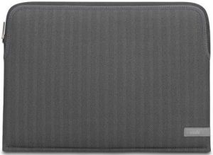 "Чехол для MacBook Pro 13"" (2009-2012) / Air 13'' (2010-2017) Moshi Pluma Designer Laptop Sleeve Herringbone Gray 13"" (99MO104051)"