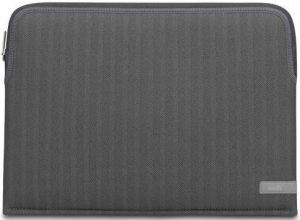 "Чехол для MacBook Pro 13'' Retina (2016/2017) Moshi Pluma Designer Laptop Sleeve Herringbone Gray 13"" (99MO104052)"