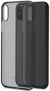Чехол для iPhone X/XS Moshi SuperSkin Exceptionally Thin Protective Case Stealth Black (99MO111063)