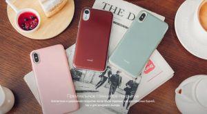 Чехол для iPhone XR Moshi iGlaze Slim Hardshell Case Armour Black (99MO113001)