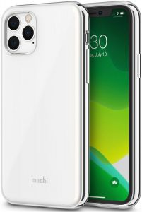 Чехол для iPhone 11 Pro (5.8'') Moshi iGlaze Slim Hardshell Case Pearl White (99MO113103)