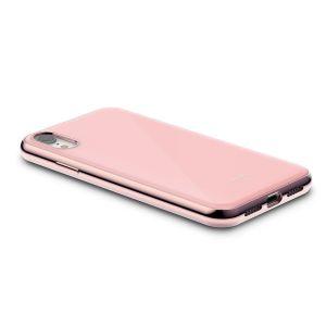 Чехол для iPhone XR Moshi iGlaze Slim Hardshell Case Taupe Pink (99MO113301)