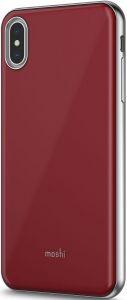 Чехол для iPhone XS MAX (6.5'') Moshi iGlaze Slim Hardshell Case Merlot Red (99MO113322)