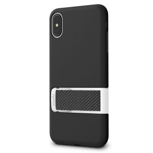 Чехол для iPhone XS MAX (6.5'') Moshi Capto Slim Case with MultiStrap Mulberry Black (99MO114002)