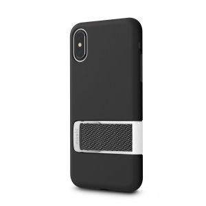 Чехол для iPhone XS/X (5.8'') Moshi Capto Slim Case with MultiStrap Mulberry Black (99MO114003)