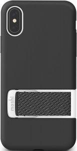 Чехол для iPhone XS/X (5.8'') Moshi Capto Slim Case with MultiStrap Mulberry Black (99MO114003)